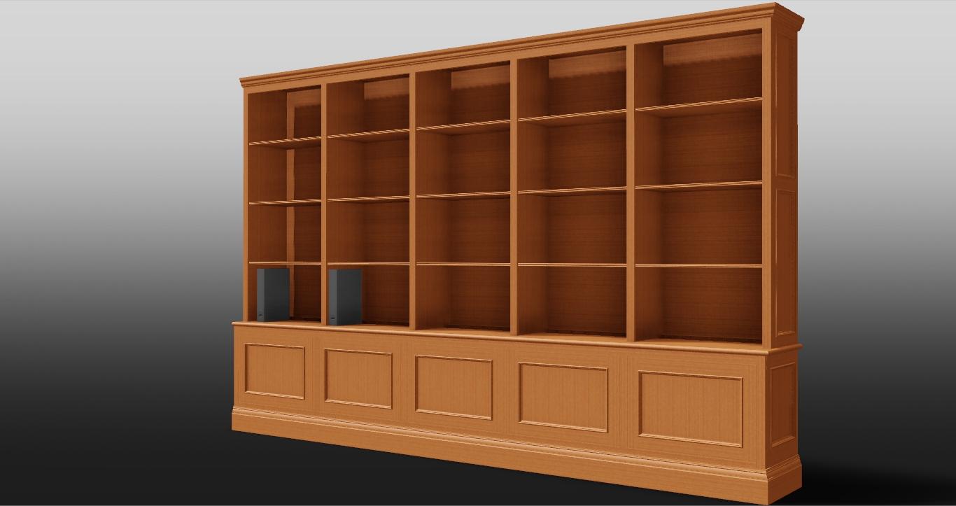 Rollston Study, Cabinet